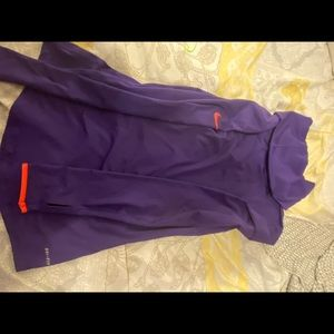 New Nike pullover purple with orange ✅